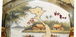 Tranh cát việt nam - tranh cát biểu tượng làm quà tặng cho du khách