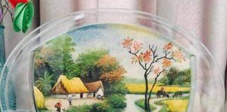 Tranh cát Việt - nghệ thuật làm tranh cát ở Việt Nam