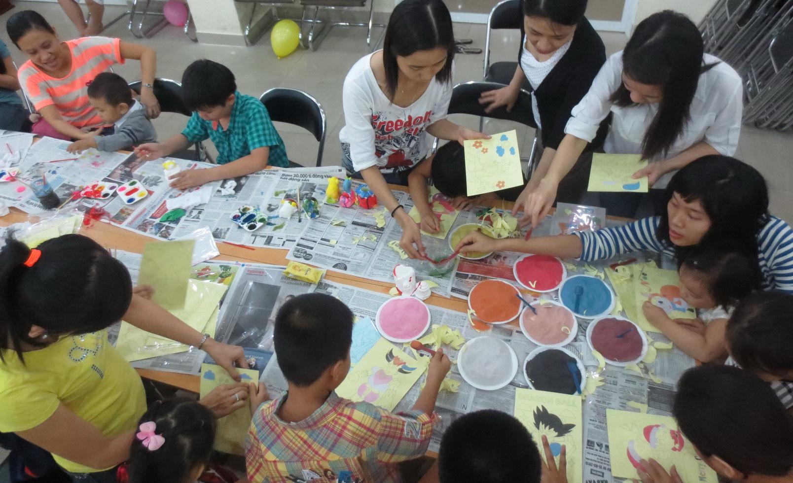 Cách vẽ tranh cát, tô tranh cát cho trẻ em