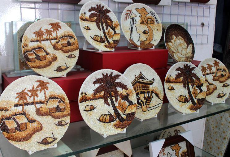 Tranh gạo nghệ thuật tại TPHCM