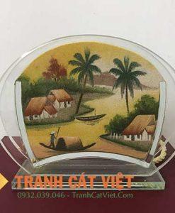 Tranh cát phong cảnh – Oval Mini 31