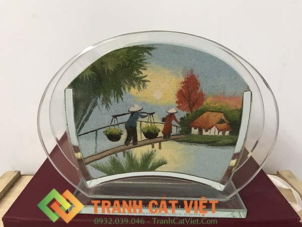 Tranh cát phong cảnh – Oval Mini 35